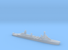 French Pluton minelaying cruiser WW2 1:2400 3d printed