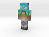 overworld20   Minecraft toy 3d printed