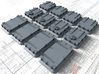 1/128 Royal Navy Weatherdeck Hatch Set x12 3d printed 1/128 Royal Navy Weatherdeck Hatch Set x12