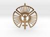 SOLAR FEMININE Venus Jewelry Symbol Necklace. 3d printed