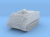 M125 A1 Mortar closed (no skirts) 1/220 3d printed