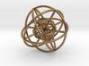 8Cubeoctahedral Sphere Inside Sphere 48x2mm 3d printed