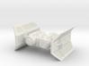 TIE Shuttle (1/270) 3d printed