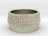 Rib Bone Ring 3d printed