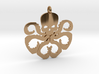Hydra necklace charm 3d printed