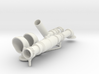Long pipe and vents for G-5 Torpedo Boat model in  3d printed