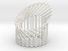 Wire Cylinder Zig-Zag with Cut Diagonal Shift  3d printed