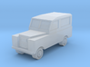 1/450 Land Rover Series 2a SWB, for T gauge 3d printed Land Rover Series 2 Frosted Ultra Detail