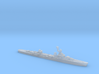French cruiser Émile Bertin c1943 WW2 1:3000 3d printed