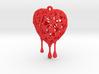 Bleeding Heart Earring (Small001) 3d printed