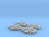 LTF25 (ARC) v0.6 - 2 Pairs (4 bogies) OO Scale 3d printed