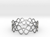 Braided Wave Bracelet (67mm) 3d printed