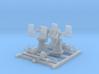 1/144 Royal Navy Twin 20mm Oerlikon MKIX 45º x2 3d printed 1/144 Royal Navy Twin 20mm Oerlikon MKIX 45º x2
