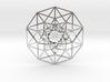 5D Hypercube small 3d printed