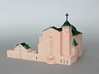 Suseo Cathedral (Unpainted) 3d printed Acrylic painted