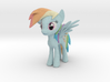 My Litte Pony - Rainbow Dash (≈65mm tall) 3d printed