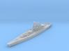 IJN Super Yamato A-150 battleship 1/2400 3d printed