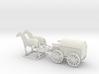 1/120 horse drawn Cart, Pferdefuhrwerk  3d printed