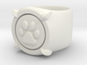 CHAT NOIR RING Size4 3d printed