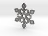 Snow Flake 3d printed Snow Flake steel