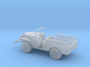 1/110 Scale Dodge WC-51 Troop Carrier 3d printed