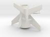 1/400 VON BRAUN ROCKET (STAGED) 3d printed