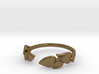 Delicate Leafs Ring 3d printed