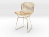 "Knoll Bertoia Side Chair 3.9"" tall 3d printed"