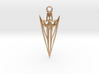 Arrowhead Pendant 3d printed