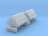 2x N Gauge Hudson Tipping Wagons 3d printed