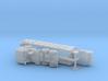 THAAD CEU Semitrailer FMTV M1088 Tractor 1/220 3d printed