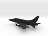 North American F-100C Super Sabre 3d printed