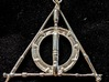 The Fandom Hallows 3d printed Pendant on it's own