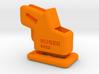 Ruger-SR22-EZ Loader & Pull down collar. 3d printed