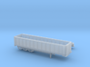 1:160 N Scale 35' East 3-Axle Dump Trailer 3d printed