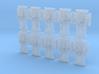 Raptor Tower Shields V2 Sprue 1 3d printed