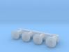 OO Scale NWR #2/#3/#6/#7 Buffers 3d printed