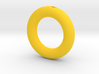 Sonic Gold Ring Keychain/Pendant Charm 3d printed