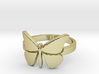 Butterfly (large) Ring Size 7 3d printed