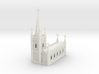 N Scale Church Cathedral 1:160 3d printed
