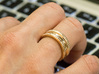 Triple Band iXi Ring Size 6 3d printed