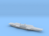 USS Midway (1992) w/Hanger, 1/2400 3d printed
