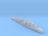 USS Douglas H Fox destroyer 1:3000 WW2 3d printed