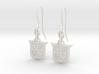 Legend of Zelda Inspired Earrings With Hooks 3d printed