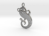 Fiji Mermaid Pendant 3d printed