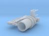 EFFER 65000 marine crane - 1:100 3d printed