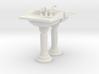 Toilet Sink Ver02. 1:24 Scale 3d printed