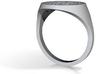 Mountain Ring 3d printed