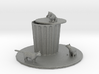 O Scale Cat Trouble 3d printed This is a render not a picture