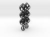 SWIRL - earrings 3d printed